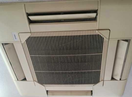 今日やること|当店事務所の業務用エアコンの掃除(クリーニング)