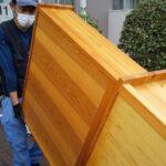 廃棄する家具の運搬
